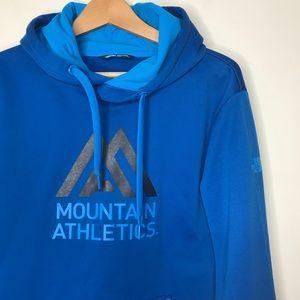The North Face Sz M Blue Hoodie Sweater